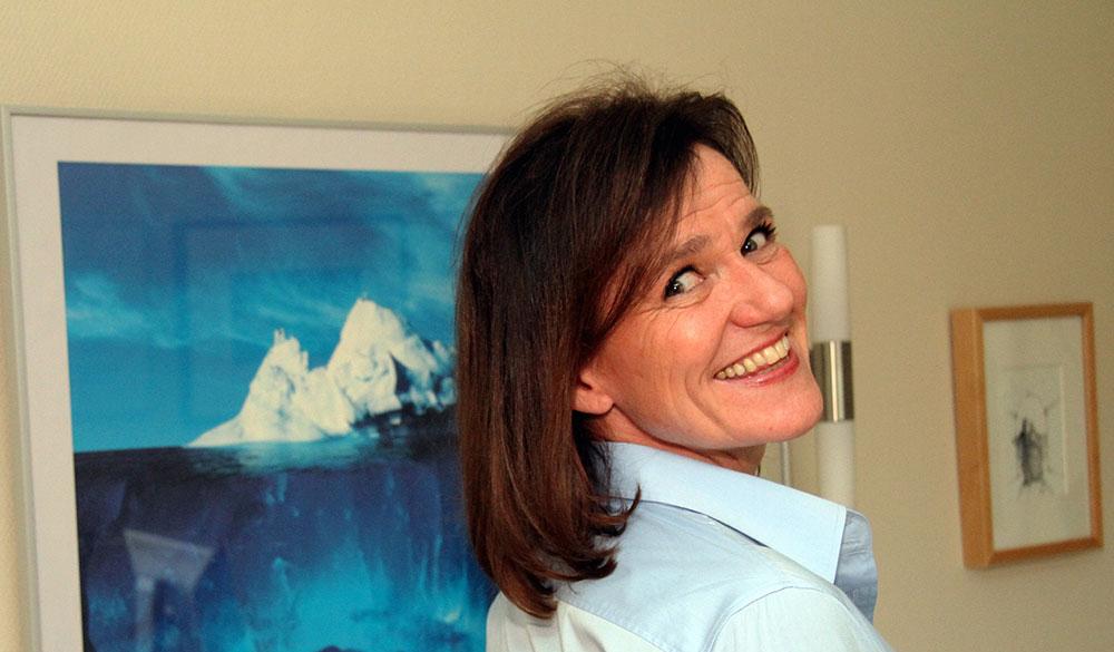 Cecilie i Din Høyre Hånd intervjues av Horeca-bladet